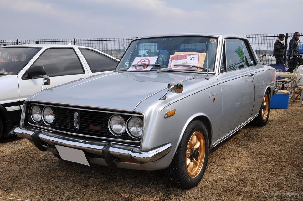 コロナ ハードトップ 1600S 1968年嶽宮 三郎