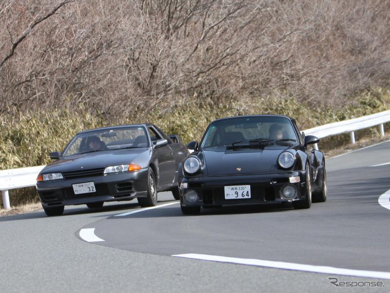 911ターボ vs スカイラインGT-R