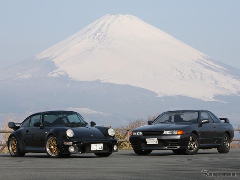 日独:GT-R vs 911ターボ