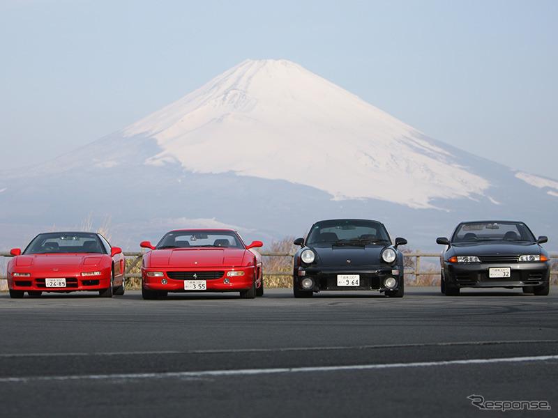日独日伊:GT-R vs 911ターボ、NSX vs F35