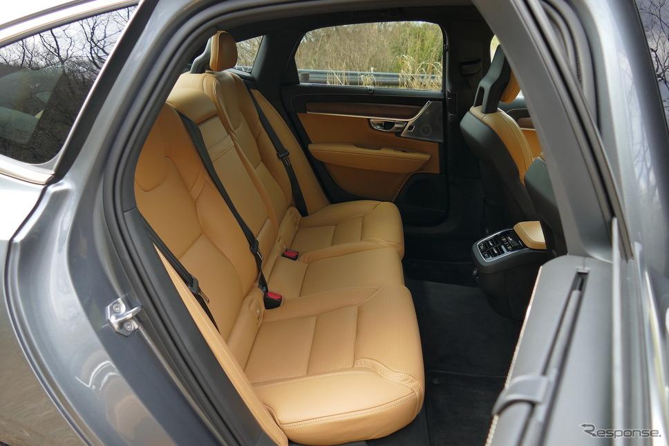 ボルボ S90 T6 AWD Inscription《撮影 島崎七生人》