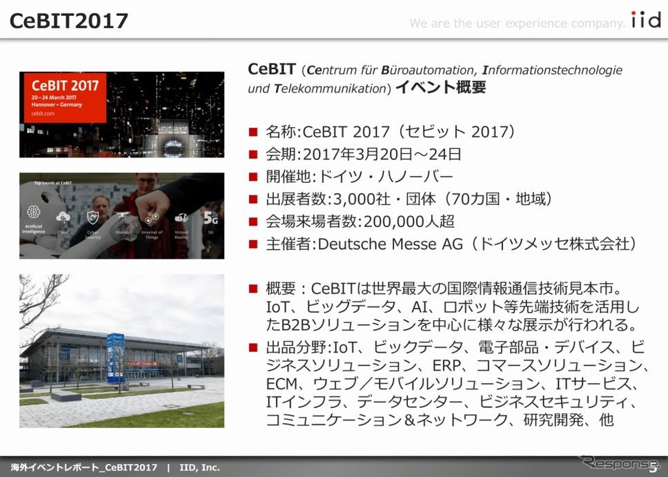 調査レポート(CeBIT 2017)