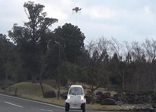 エアロセンス UAV×ZMP RoboCar  MV2
