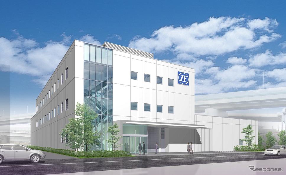 ZFのジャパンテックセンター《画像提供 ZFジャパン》