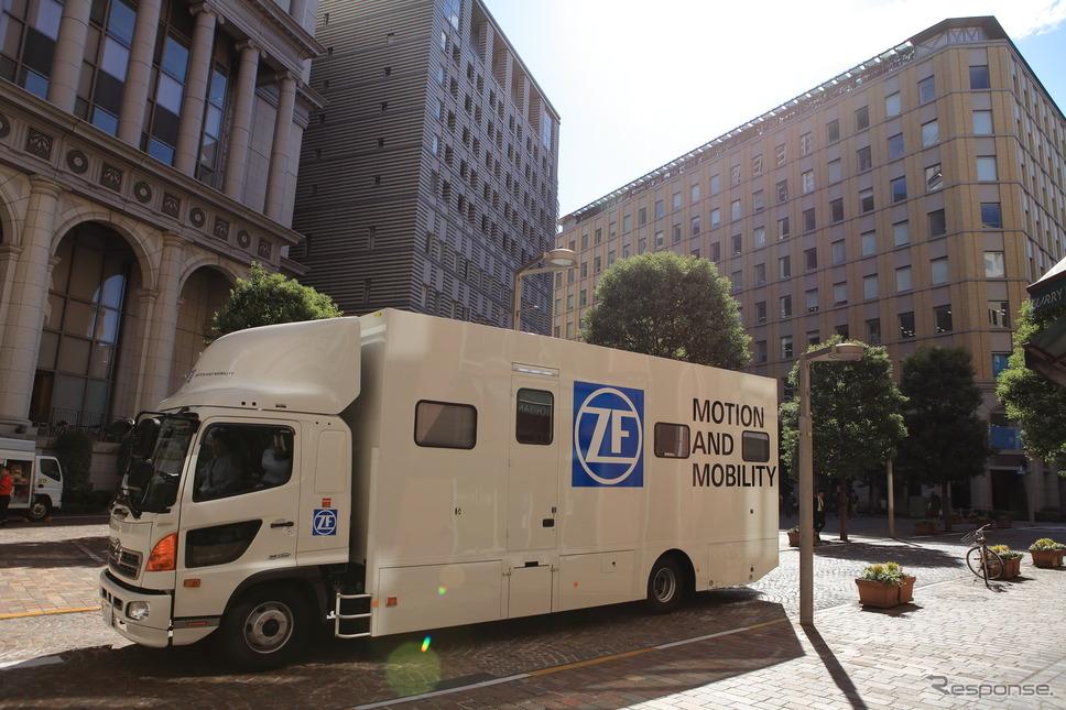 ZFのダンパーチューニングトラック(参考画像)《画像提供 ZFジャパン》