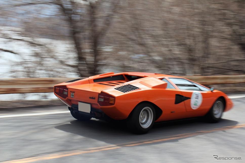 ランボルギーニ カウンタックLP400《撮影 内田俊一》