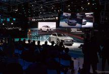 【上海モーターショー2017】会場ではアウディ e-tronスポーツバック に注目だが、市場の関心の高さは…