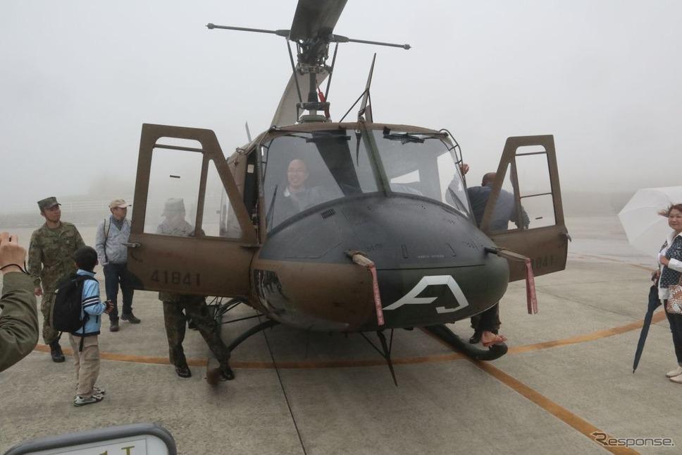 陸自UH-1J《撮影 中尾真二》