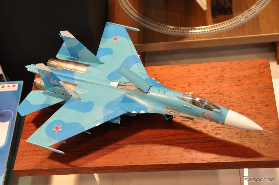 "1/72 Su-27SM2/3 フランカーB ""アップデート""《撮影 嶽宮三郎》"