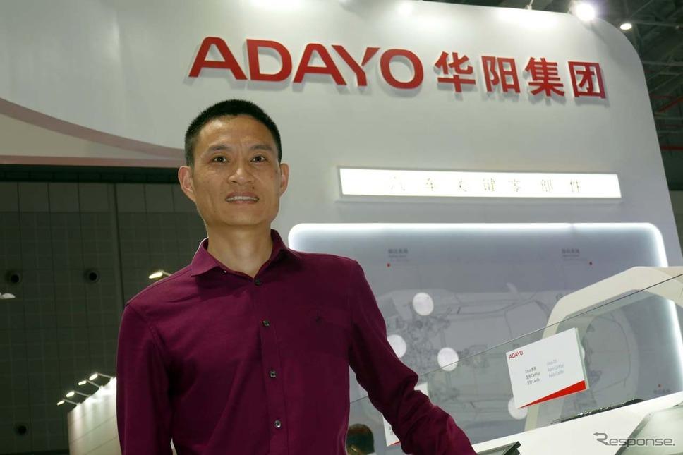 取材に応じてくれたKOTEIの市場企画部本部長 劉 強氏