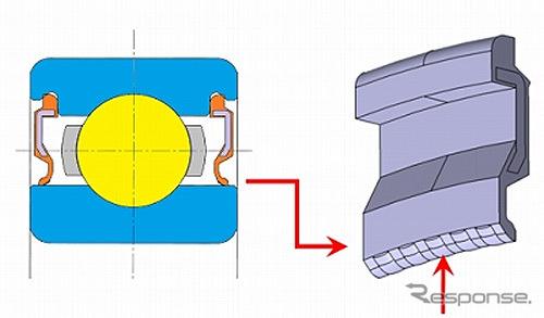 開発品の断面図