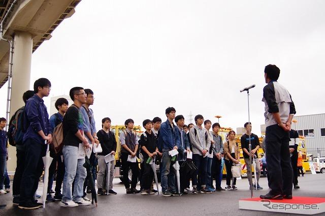 首都圏の大学から41人が参加。《撮影 石田真一》