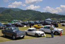 【クラシックカーミーティング イン 山梨2017】道の駅富士川に250台の旧車が大集結