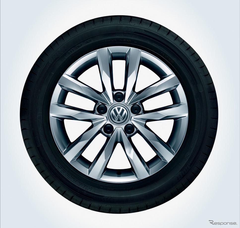 VW ゴルフ トゥーラン TSI コンフォートライン テック エディション16インチアルミホイール