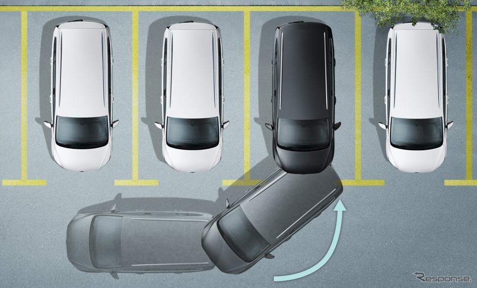 VW ゴルフ トゥーラン TSI コンフォートライン テック エディション駐車支援システム パークアシスト