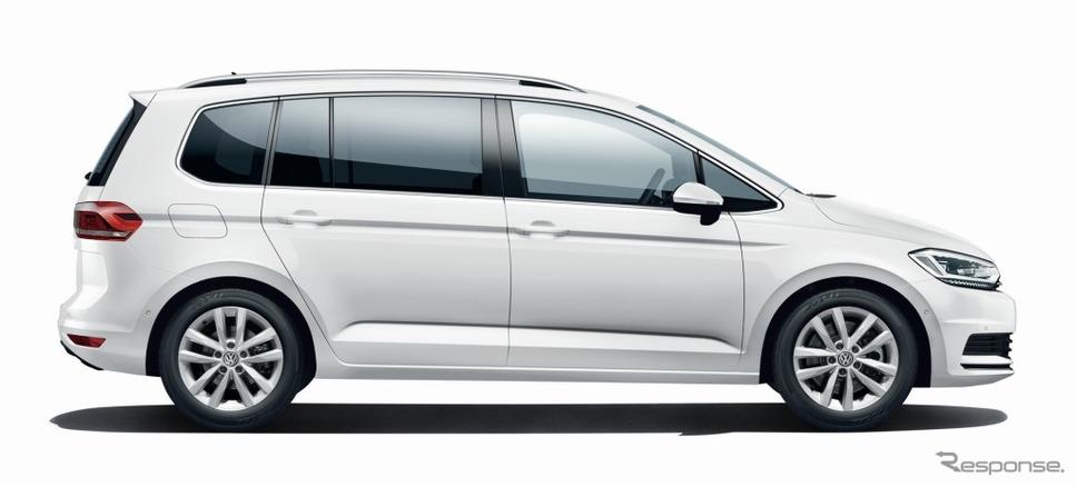 VW ゴルフ トゥーラン TSI コンフォートライン テック エディションピュアホワイト