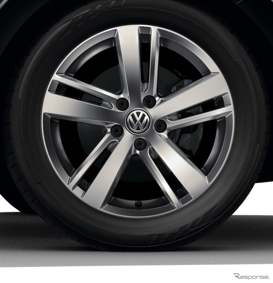 VW シャラン TSI コンフォートライン テック エディション17インチアルミホイール