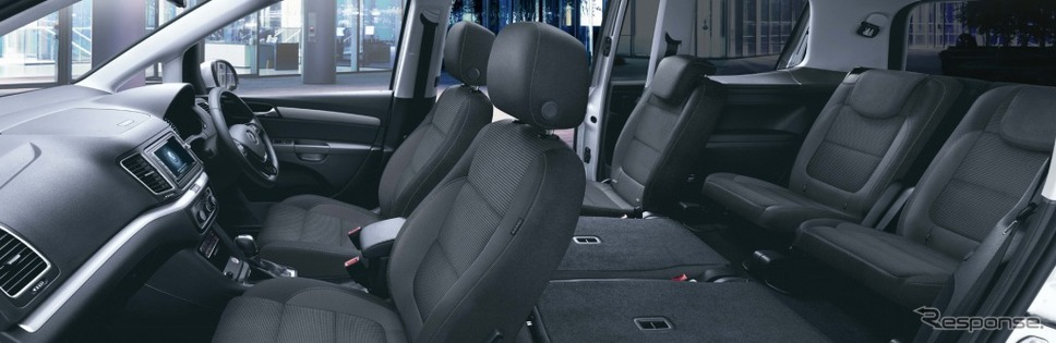 VW シャラン TSI コンフォートライン テック エディションインテリア