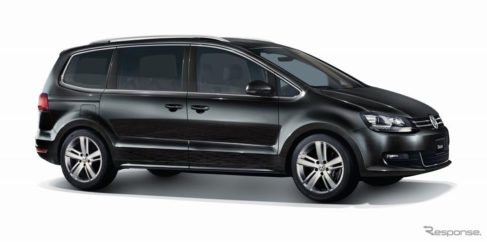 VW シャラン TSI コンフォートライン テック エディションディープブラックパールエフェクト