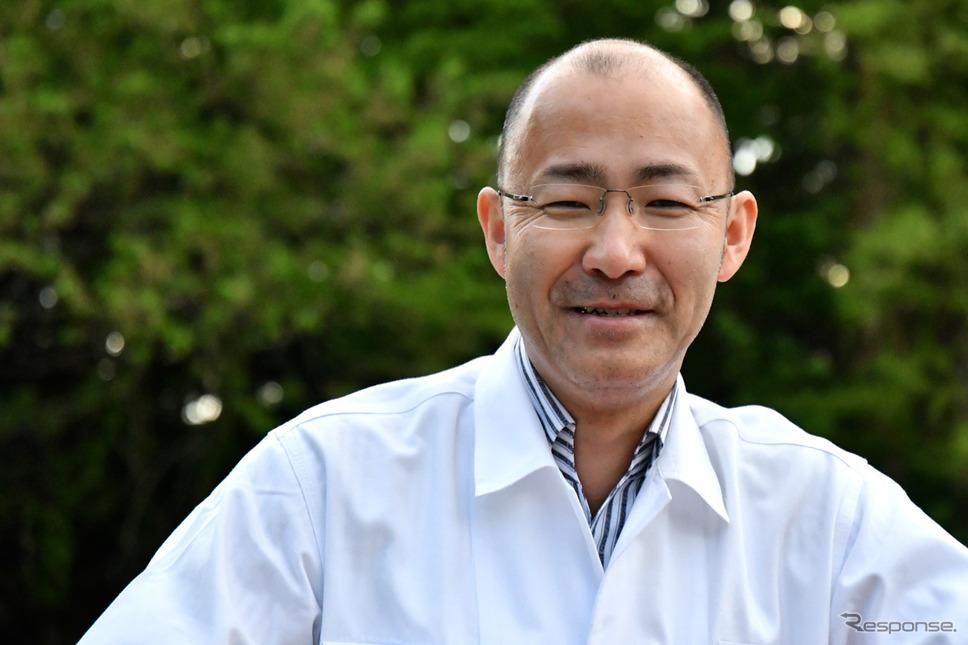 開発責任者、株式会社CBR250RR開発責任者、 本田技術研究所 二輪R&Dセンター 河合健児さん《撮影 青木タカオ》