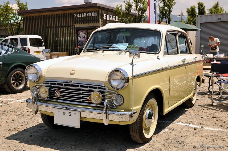 ダットサン ブルーバード 1200 ファンシーDX 1963年嶽宮 三郎