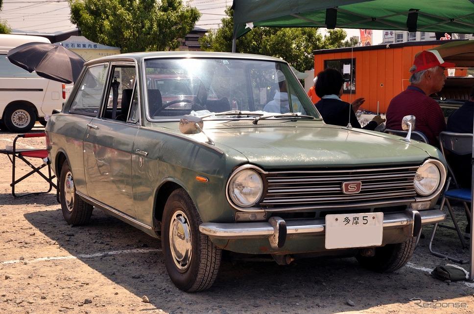 日産 サニー 1000 DX 1969年嶽宮 三郎