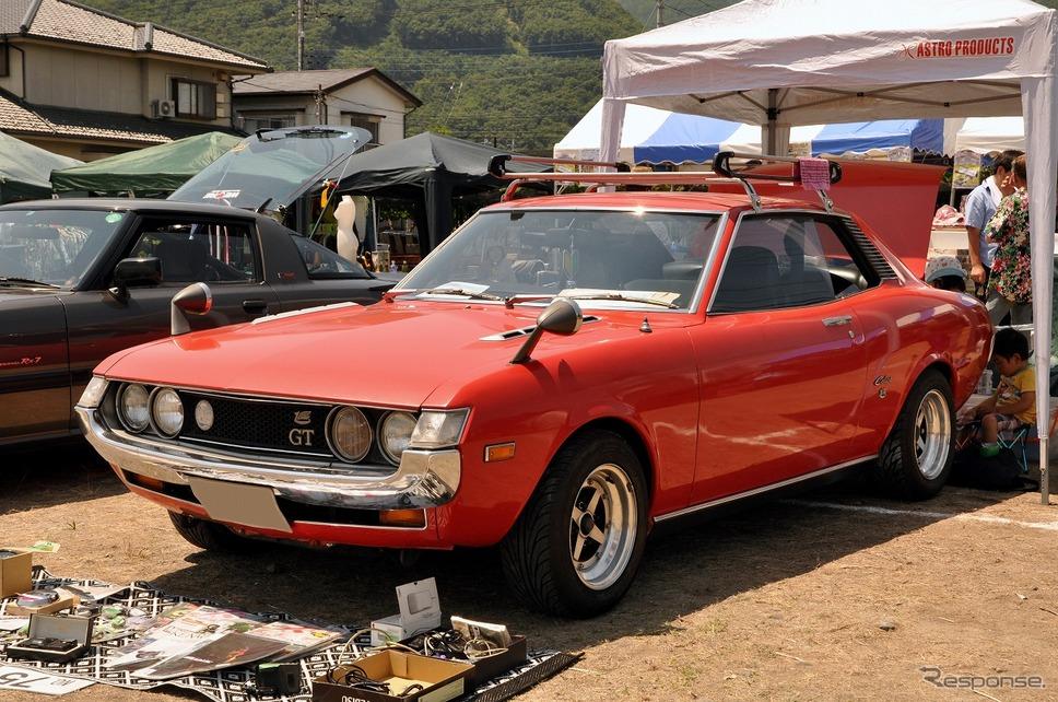 トヨタ セリカ 1600GT 1971年嶽宮 三郎