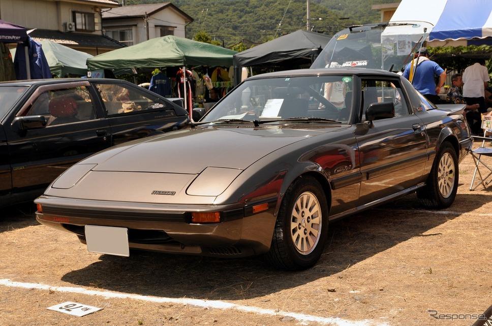 マツダ サバンナ RX-7ターボ 1983年嶽宮 三郎