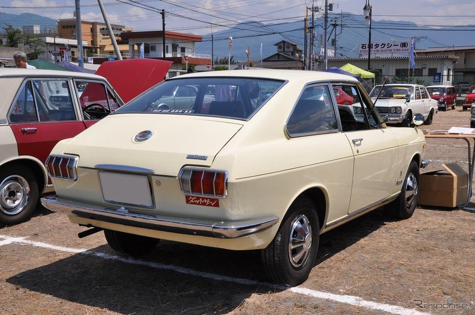 日産 サニー 1000 クーペ 1969年嶽宮 三郎