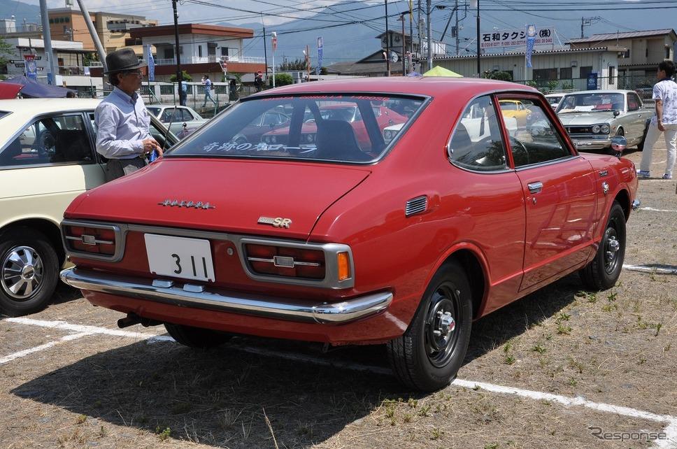 トヨタ カローラ クーペ 1400SR 1971年嶽宮 三郎