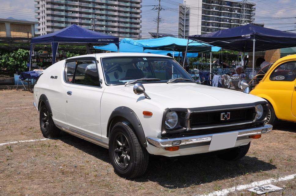 日産 チェリー クーペ X-1R 1973年嶽宮 三郎