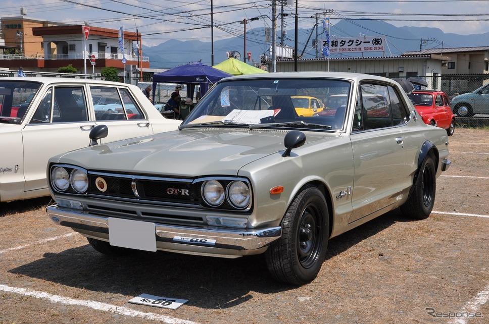 日産 スカイライン HT 2000GT-R 1972年嶽宮 三郎