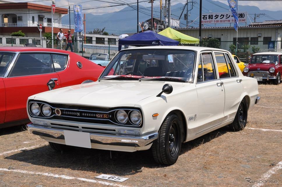 日産 スカイライン 4ドア 2000GT-R嶽宮 三郎