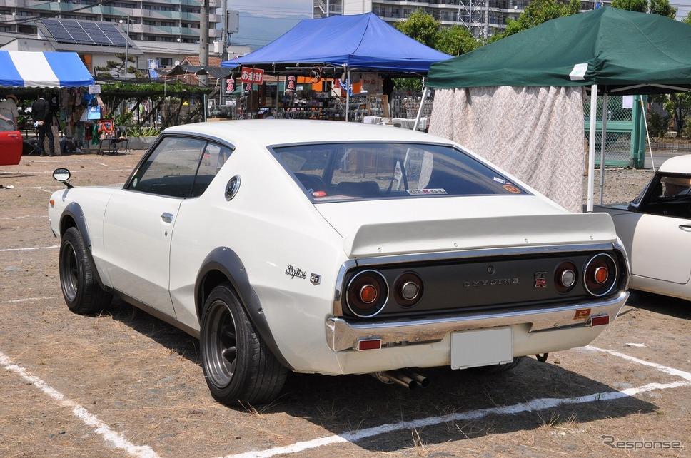 日産 スカイライン HT 2000GT-R 1973年嶽宮 三郎