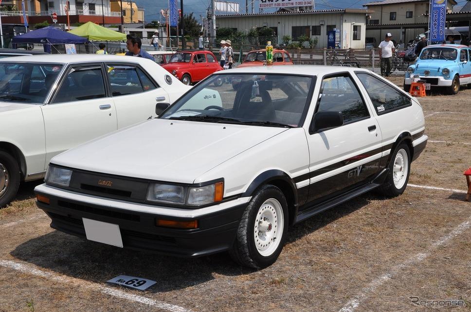 トヨタ カローラレビン GTV 1986年嶽宮 三郎