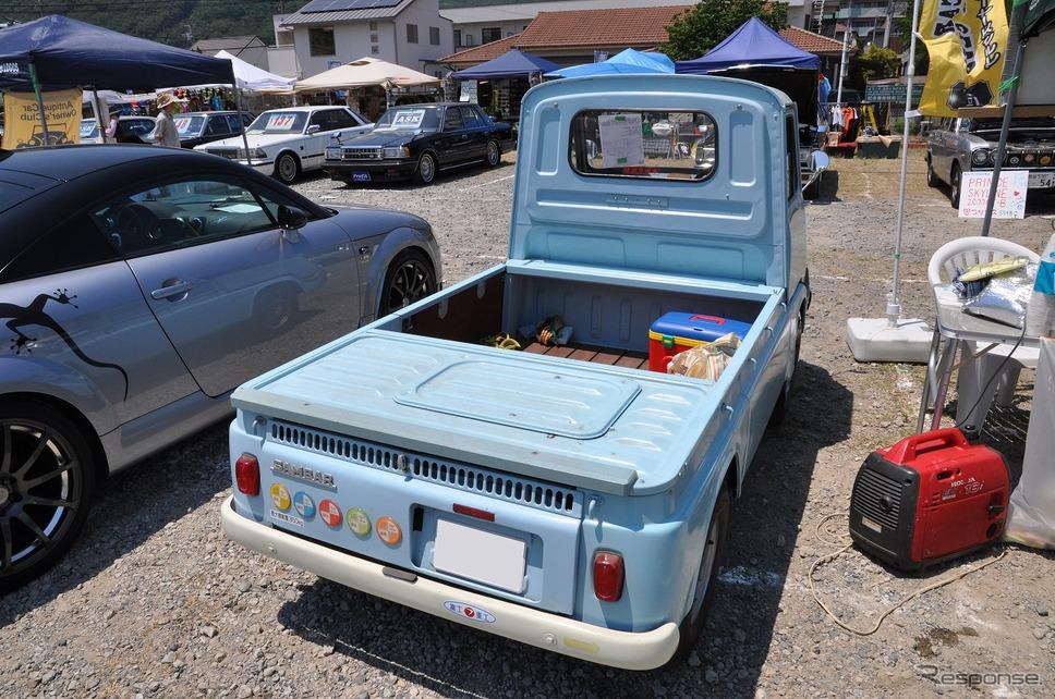 スバル サンバー トラック K-151 1965年嶽宮 三郎