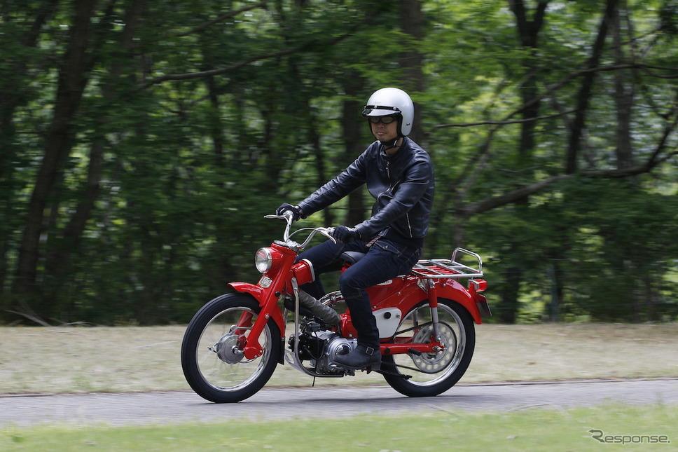 1964年製ホンダ90トレイル CT200《画像提供 ホンダモーターサイクルジャパン》