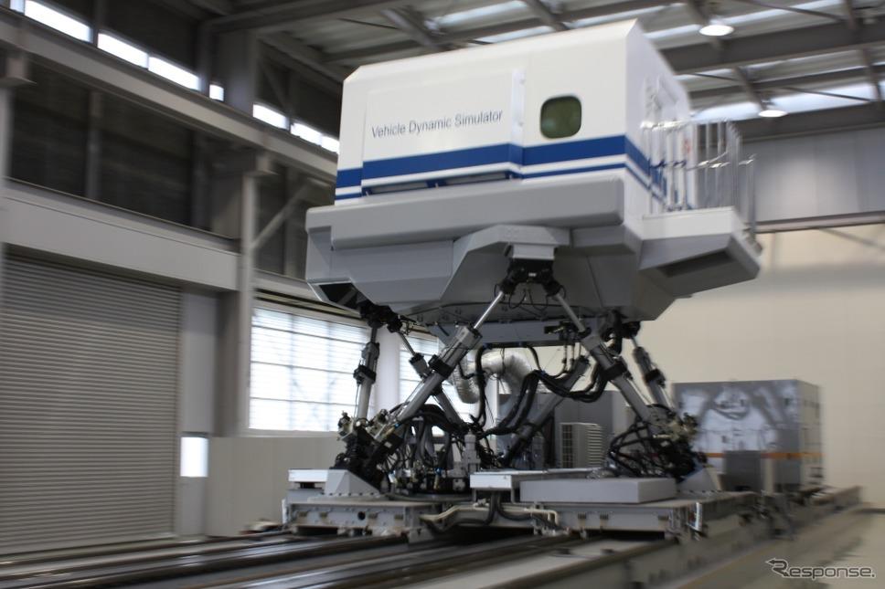 「N700S」の先頭形状はJR東海小牧研究施設(写真)での技術開発結果に基づき決められた。《撮影 草町義和》