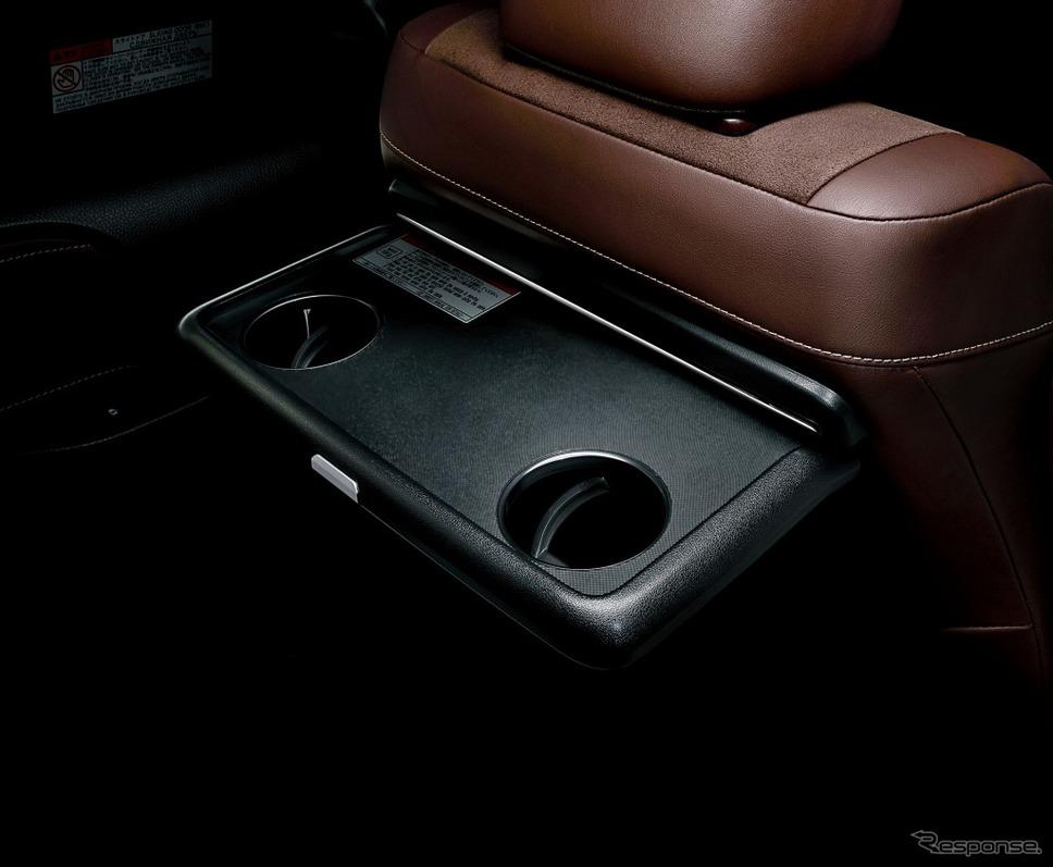トヨタ エスクァイア 助手席シートバックテーブル(カップホルダー2個付)