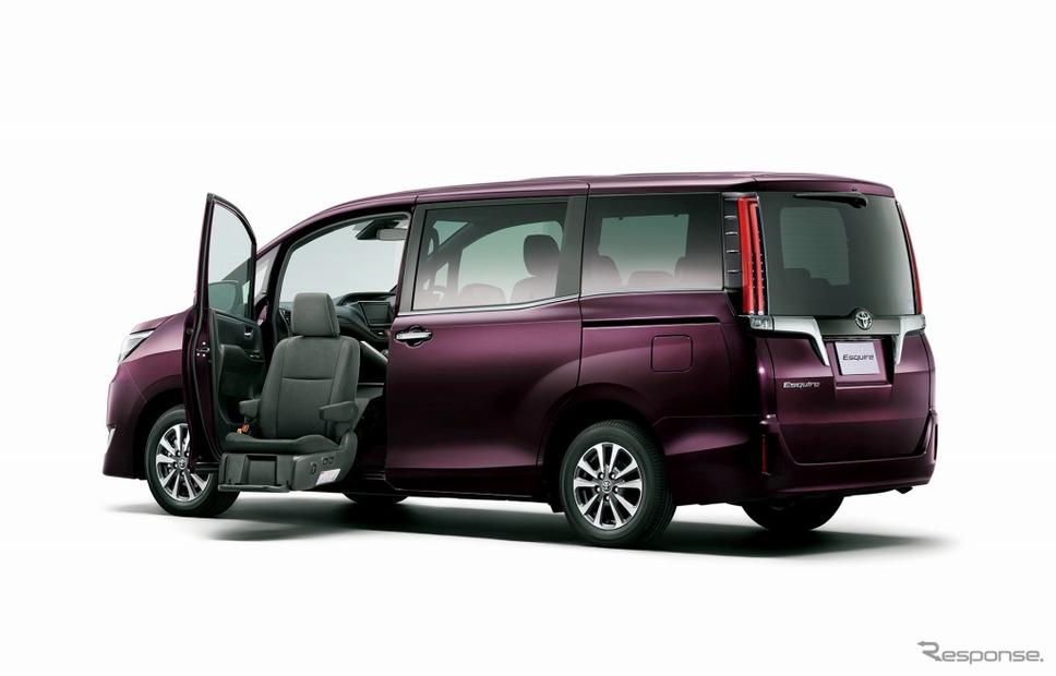 トヨタ エスクァイア ウェルキャブ 助手席リフトアップシート車 Xi(2WD)