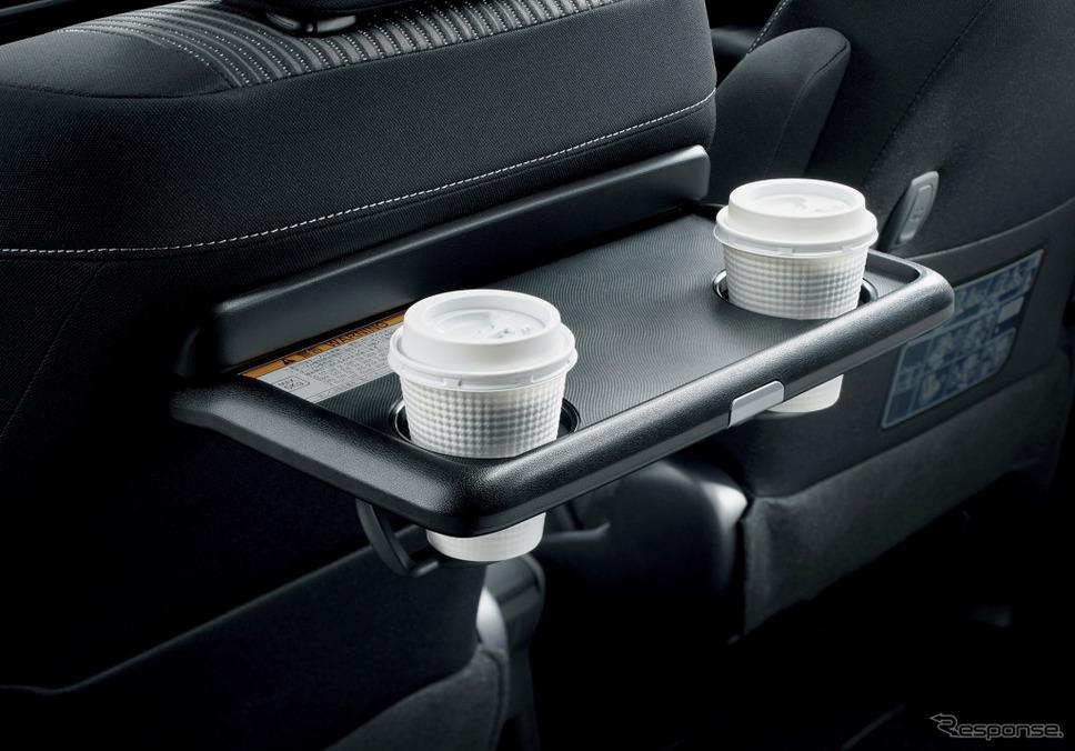 トヨタ ノア 助手席シートバックテーブル(カップホルダー2個付)