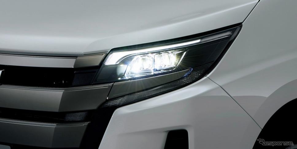 トヨタ ノア Bi-Beam LEDヘッドランプ(オートレベリング機能付)+LEDクリアランスランプ