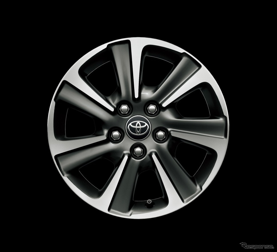 トヨタ ノア 16インチアルミホイール(切削光輝+ダークグレーメタリック)