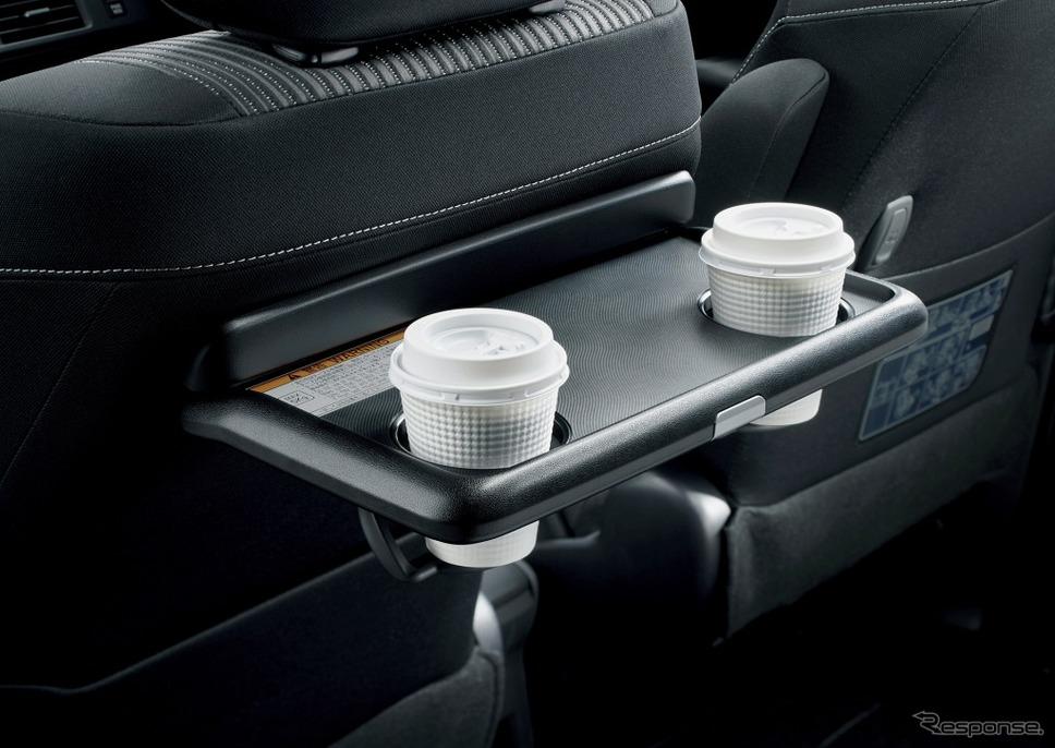 トヨタ ヴォクシー 助手席シートバックテーブル(カップホルダー2個付)