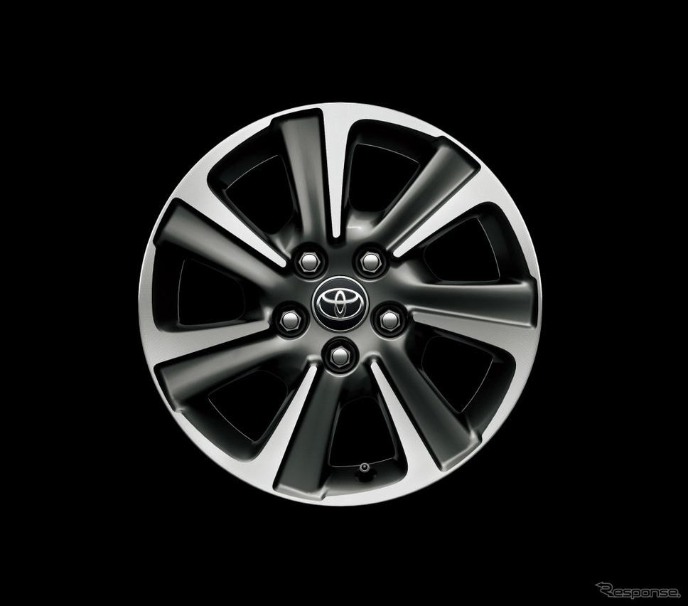 トヨタ ヴォクシー 16インチアルミホイール(切削光輝+ダークグレーメタリック)