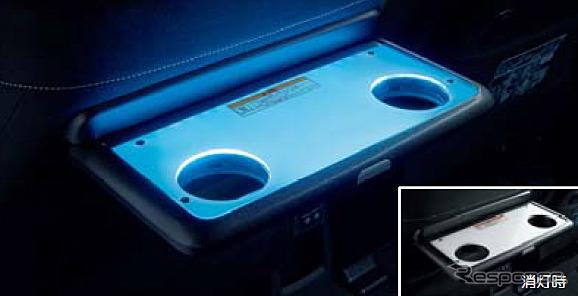 LEDシートバックテーブルパネル