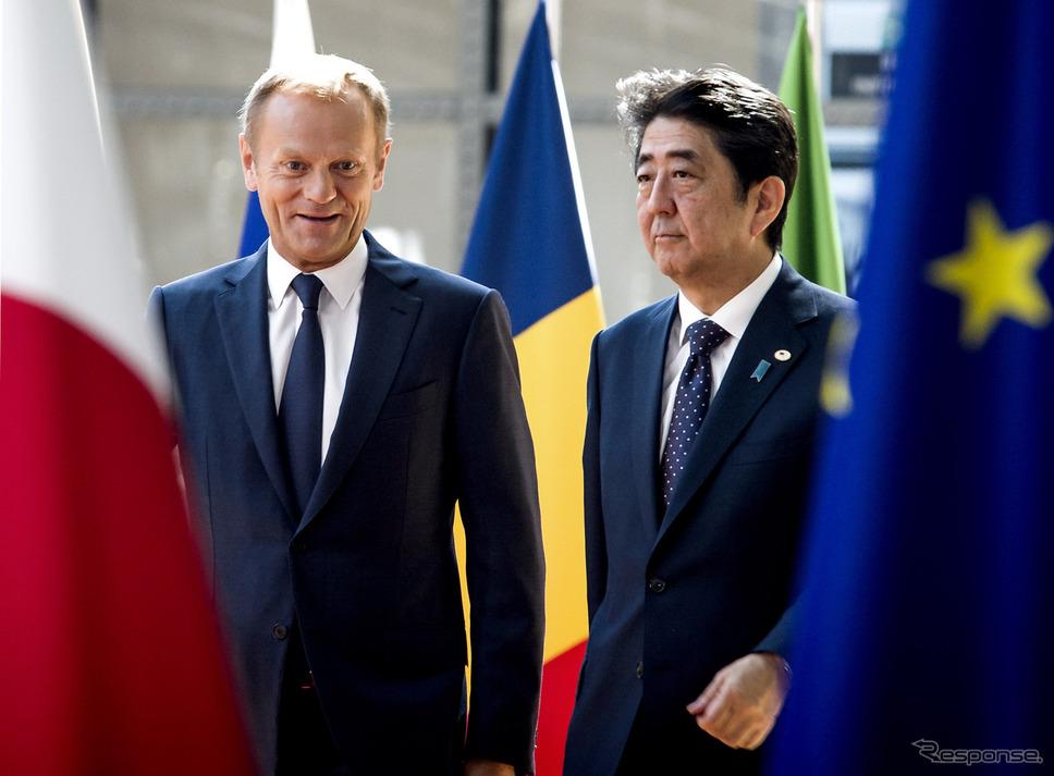 EU-Japan Summit 2017 (c) Europe Union