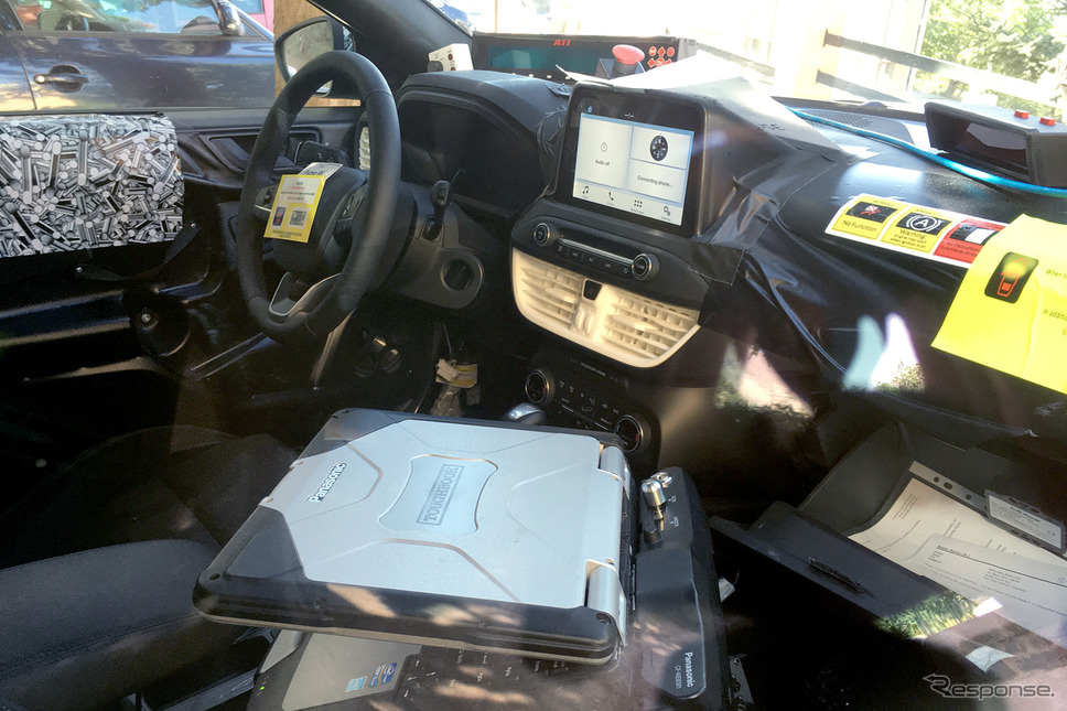 フォード フォーカス ハッチバック スクープ写真(参考画像)《APOLLO NEWS SERVICE》