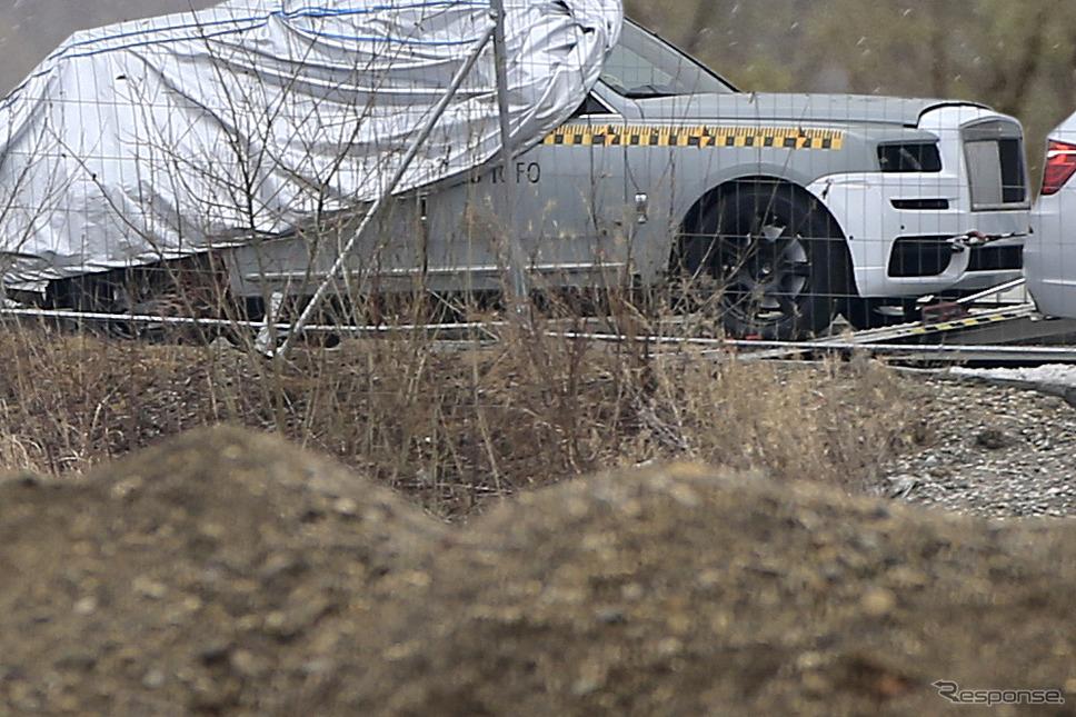 ロールスロイス カリナン スクープ写真《APOLLO NEWS SERVICE》