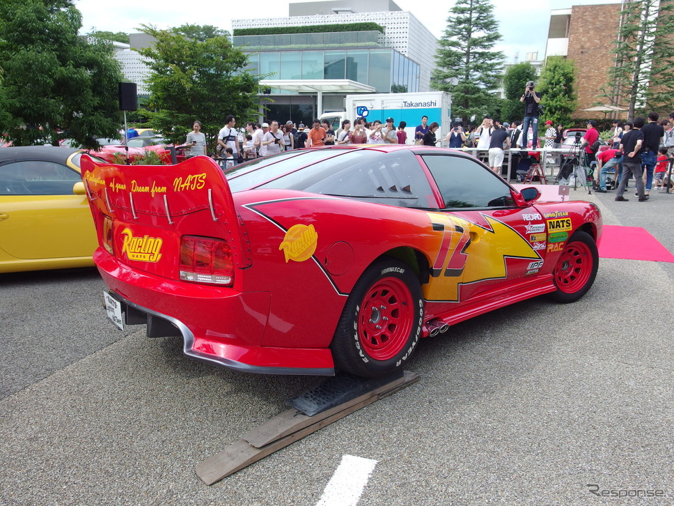 日本自動車大学校学生の作品《撮影 高木啓》